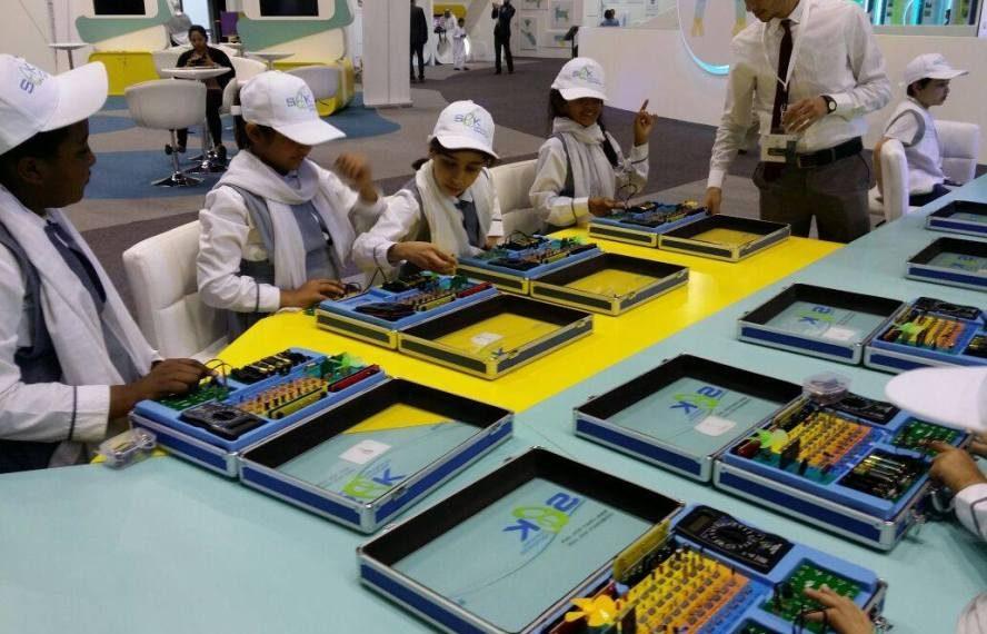 ضمن مشاركة شركة سيك العالمية في فعاليات المعرض الوطني للابتكار الذي تنظمه وزارة التربية والتعليم من 24 – 26 نوفمبر – فيستقال أرينا – دبي