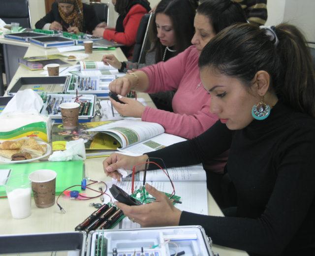 Teacher Creativity Center – Palestine  /     مركز إبداع المعلم في فلسطين